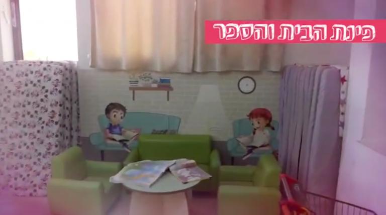 מעון הדרים - המעון של הדר גנים בפתח תקווה - לילדים מגיל 3 חודשים עד 3 שנים - פינת הבית והספר מעון הדרים